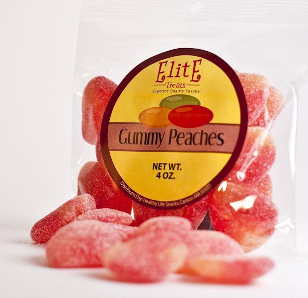 Gummy Peaches